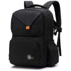 YIYUTING 旅行バックパックバックパック多機能大容量バックパック男性と女性 (色 : 黒)