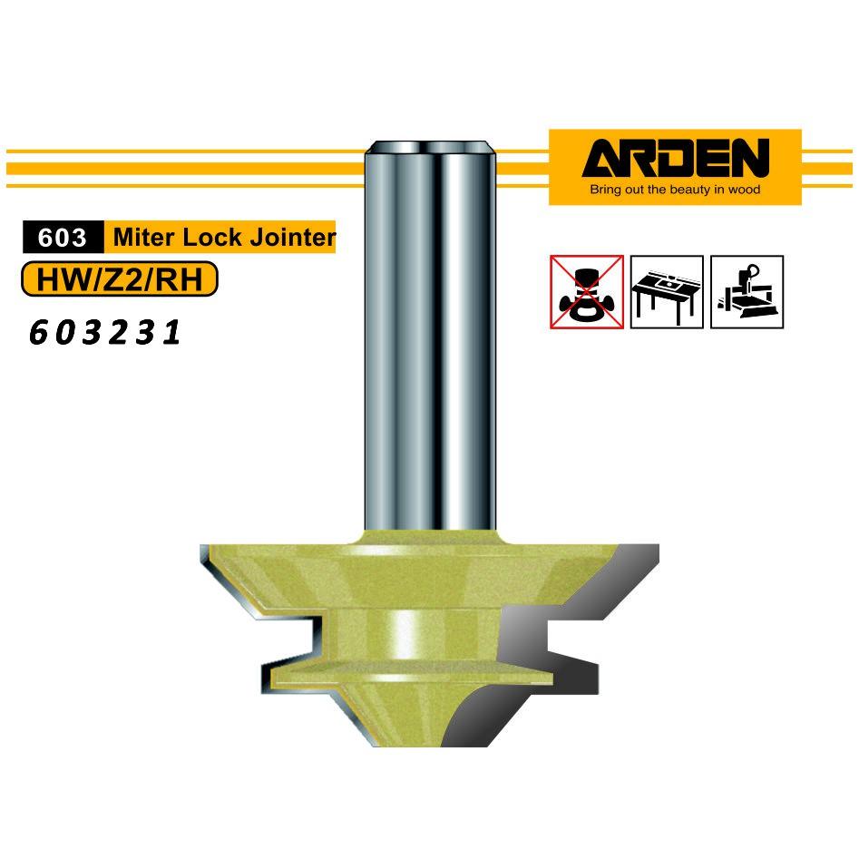Arden 603231 45度接榫刀 70x30.33x12mm