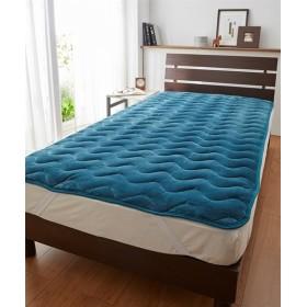 シルクのようななめらかさの吸湿発熱敷パッド 敷きパッド・ベッドパッド