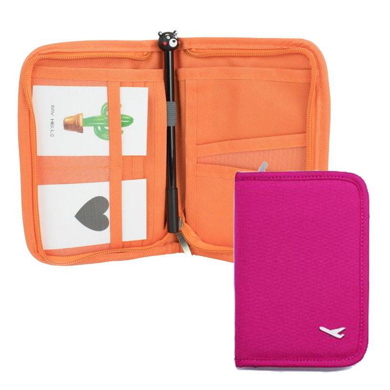 法蒂希 短款護照包 戶外旅行證件套 護照夾 卡包 旅行收納包 護照套【DI390】