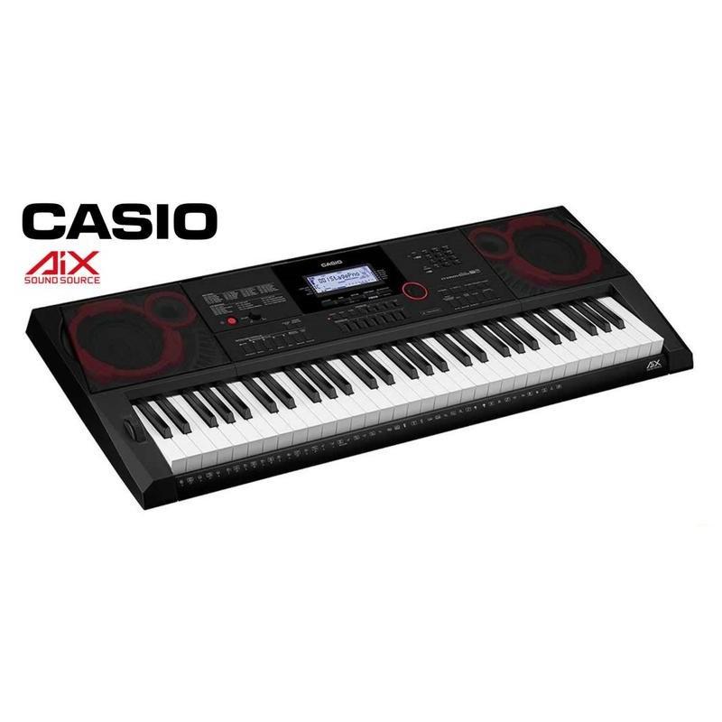 CASIO 卡西歐 CT-X3000 61鍵高階電子琴/伴奏琴(加贈琴袋/大延音踏板等超值配件)