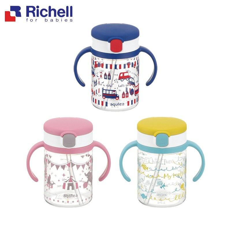 利其爾 Richell LC 四代戶外吸管水杯/學習杯 200ml