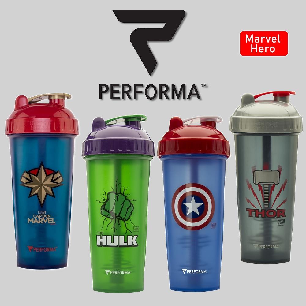 [Performa] Perfect Shaker 搖搖杯 Marvel/DC英雄系列 28oz 健身 高蛋白