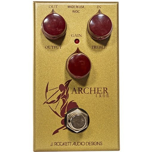 J. Rockett 金色人頭馬 Archer Ikon Overdrive/ Boost 單顆效果器[唐尼樂器]