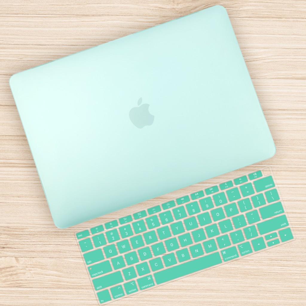 蘋果 保護殼 全新 Macbook Pro Air 13 15 11 12 吋 小清新 透绿 鍵盤膜 保護貼 筆電散熱