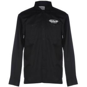 《期間限定セール開催中!》CARHARTT メンズ シャツ ブラック XL ポリエステル 65% / コットン 35%