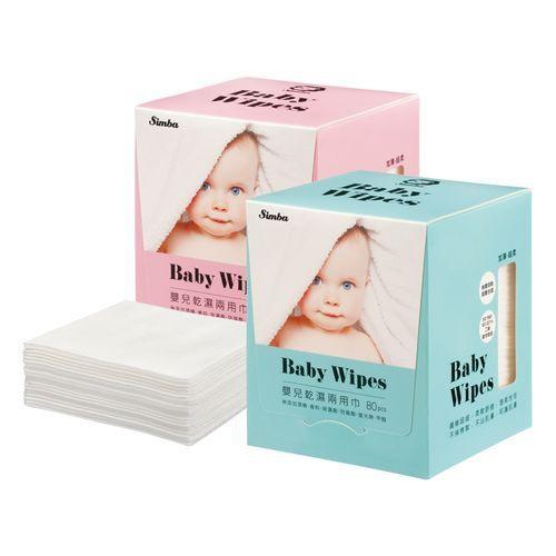 imba小獅王辛巴嬰兒乾濕兩用巾(80抽)X36盒 (二色隨機出) 2380元