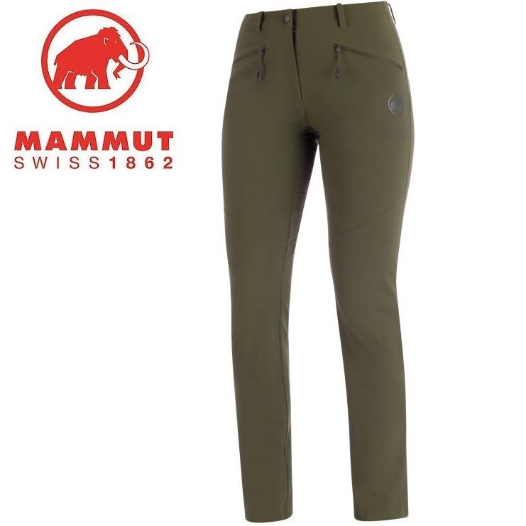 Mammut 長毛象 軟殼褲/登山褲 Trekkers 2.0 女款亞版 1021-00420
