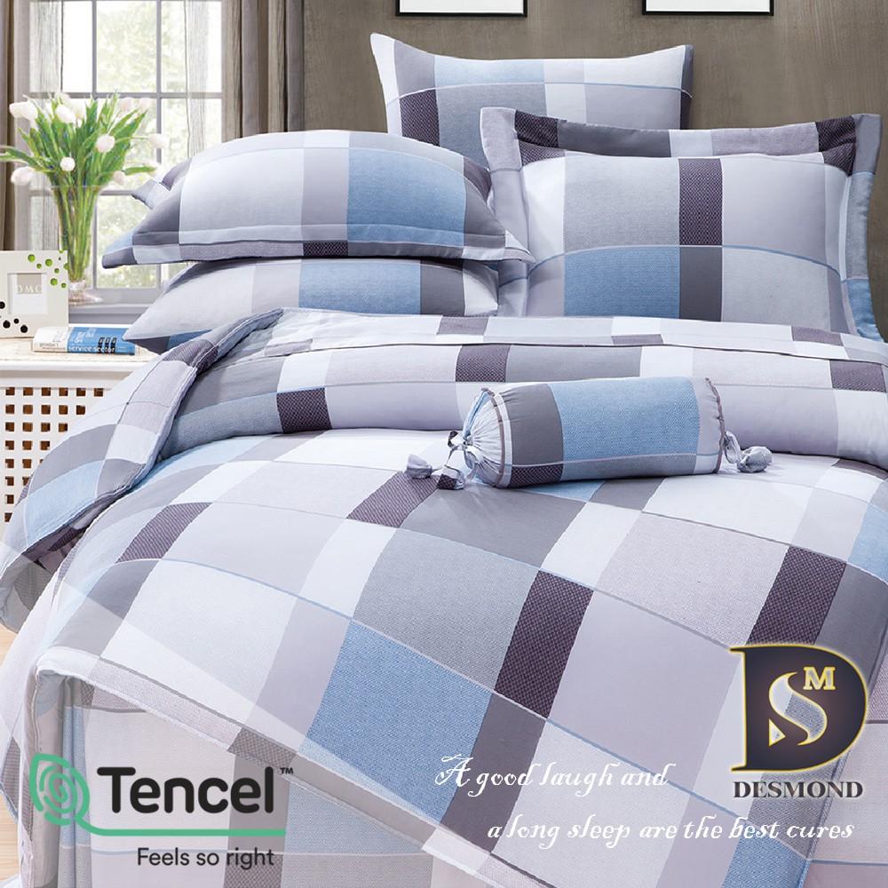 【岱思夢】格旅 100%天絲全鋪棉床包組 雙人 加大 特大 TENCEL 天絲床包 鋪棉床包