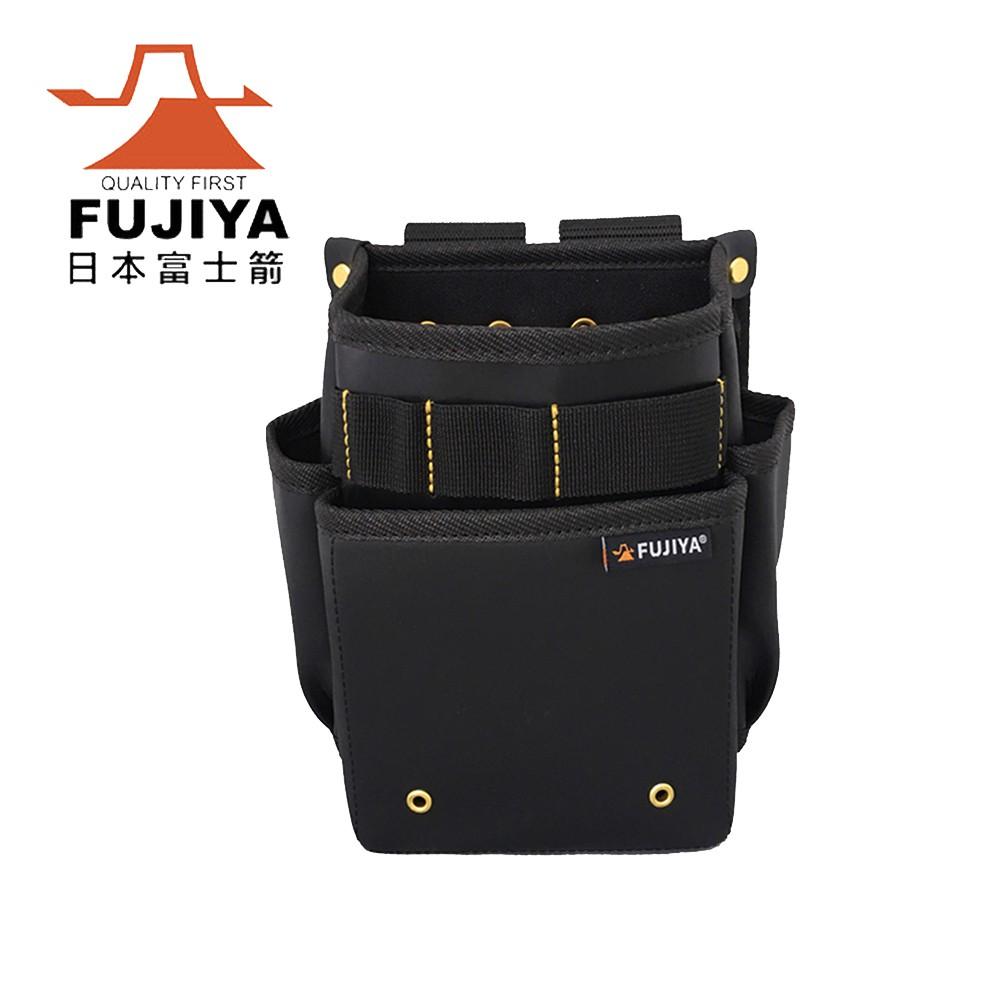 【日本Fujiya富士箭】防潑水腰間工具收納袋-二層型