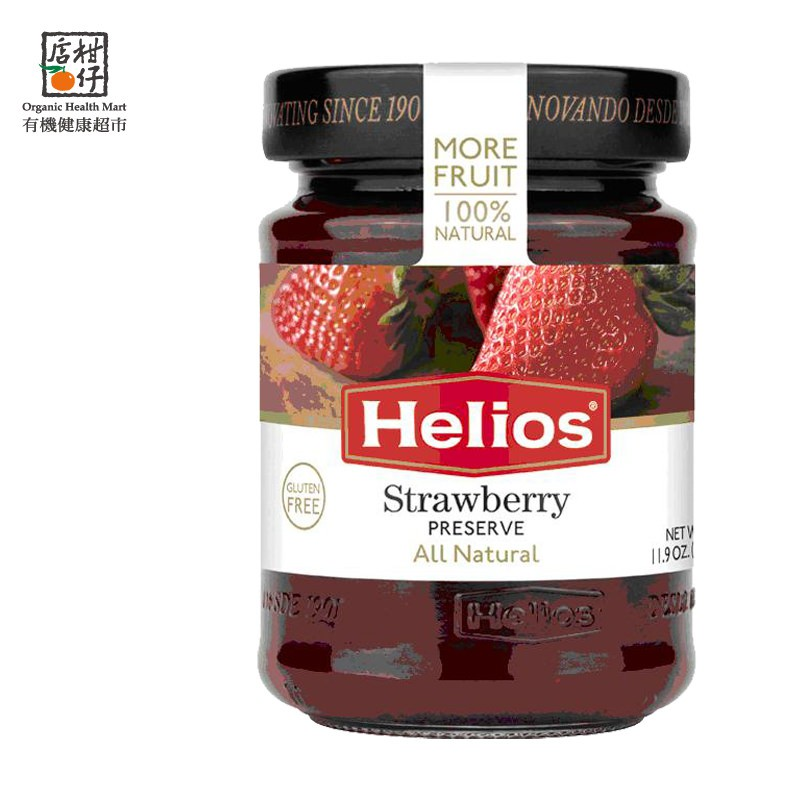 Helios太陽天然草莓果醬 340g/瓶