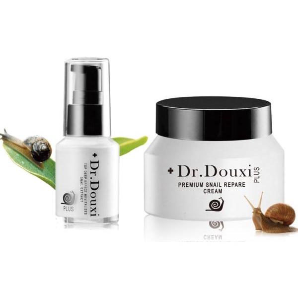 Dr.Douxi朵璽 頂級深效賦活蝸牛精華30ml/頂級修護蝸牛霜50g【小三美日】D132290