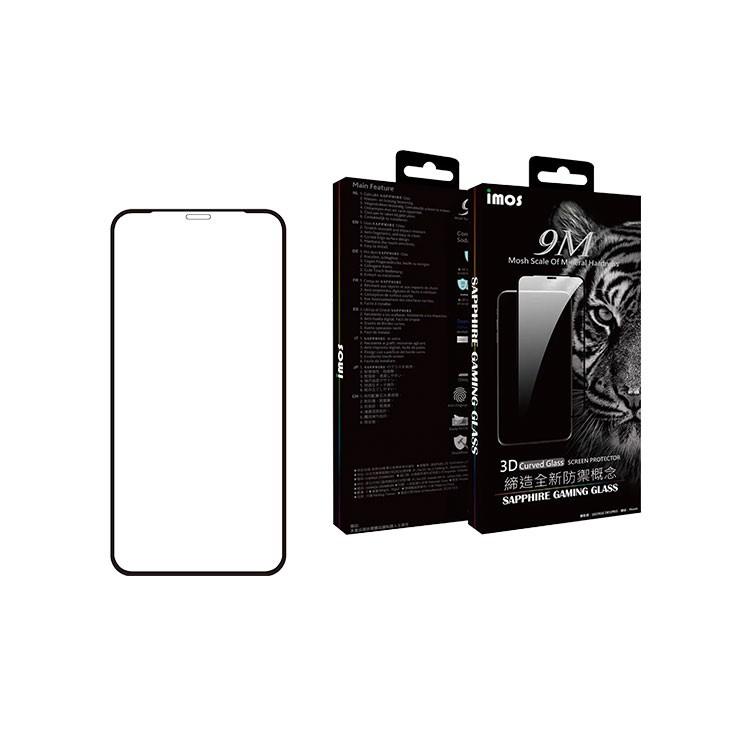imos 人造藍寶石玻璃貼 iPhone11 Pro Max X Xs 5.8吋 XsMax 6.5吋 2.5D