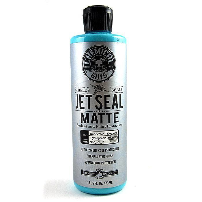美國 Chemical Guys Jetseal Matte Sealant 16oz 化學男人幫消光車漆專用封體 好蠟