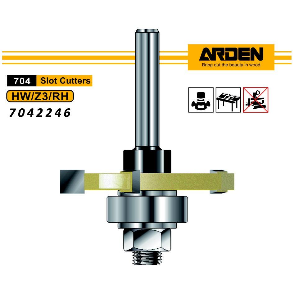 Arden 7042246 槽銑刀 47.6x6x12mm
