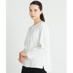 自由区 CUPRA COTTON CLOTH ブラウス レディース ホワイト系 38 【JIYU-KU】