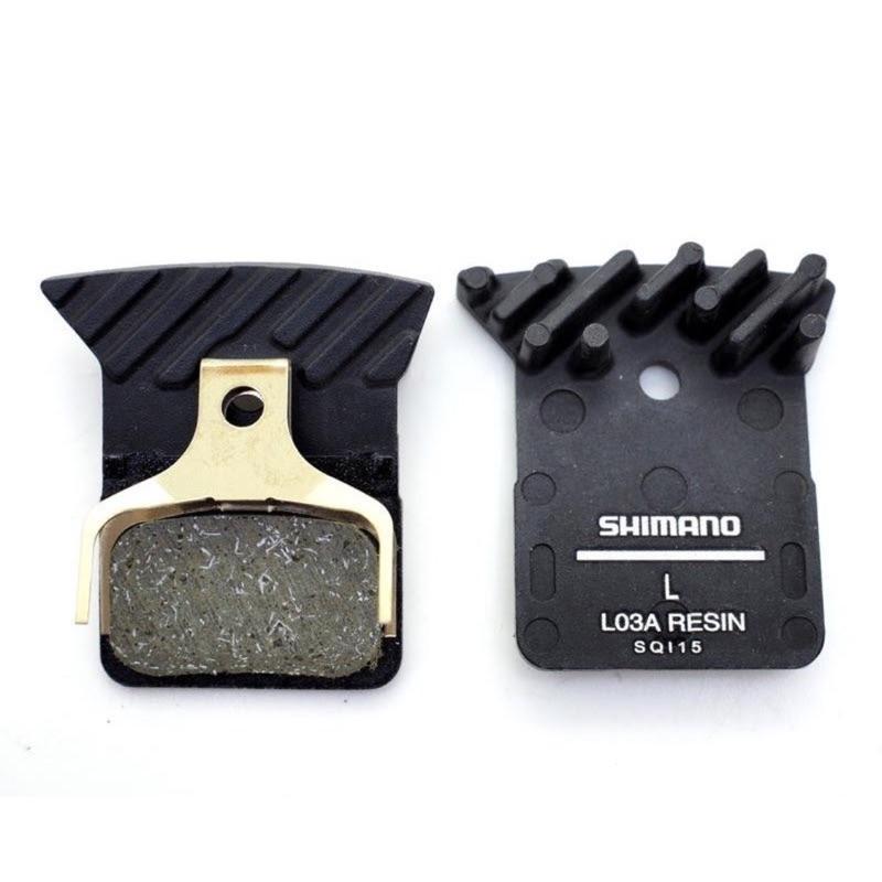 Shimano L03A 碟煞公路車 ICE Tech樹脂散熱來令片