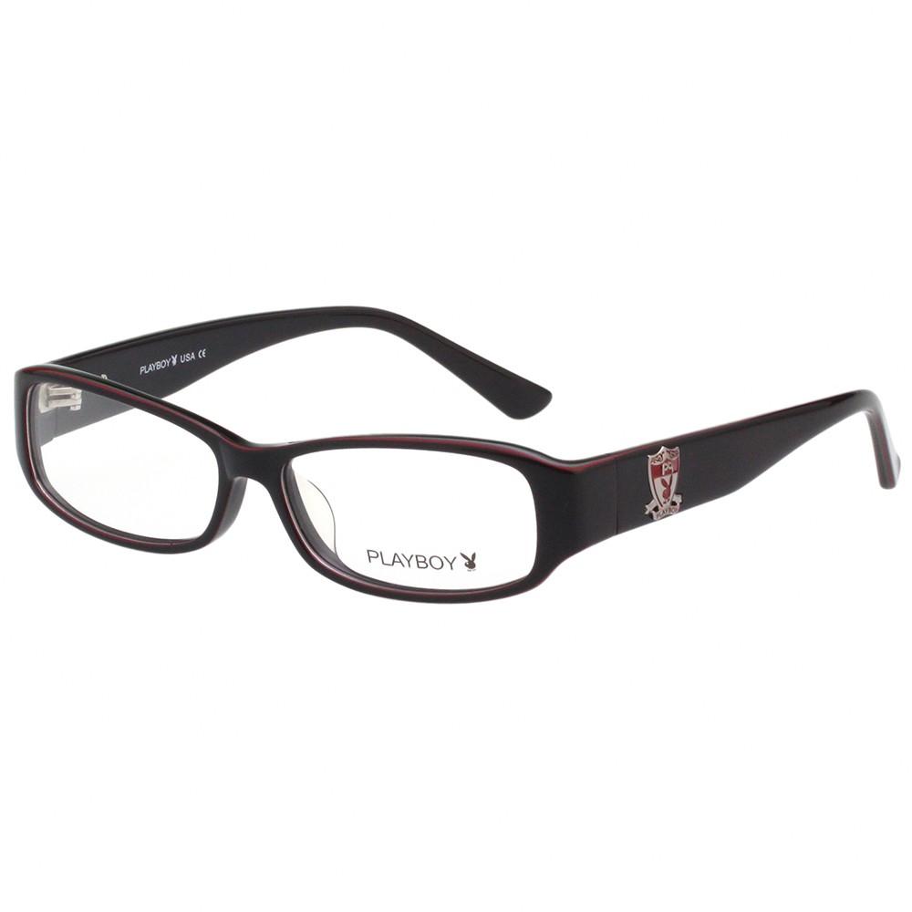 PLAYBOY-時尚光學眼鏡-深紫色-PB85306