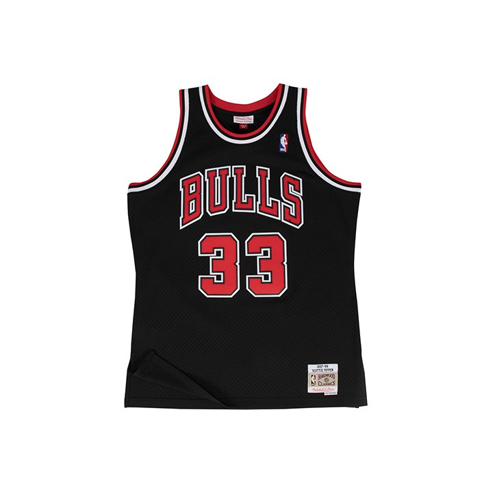M&N NBA公牛隊 Scottie Pippen 33 復刻球衣MNSWJG204A【iSport愛運動】