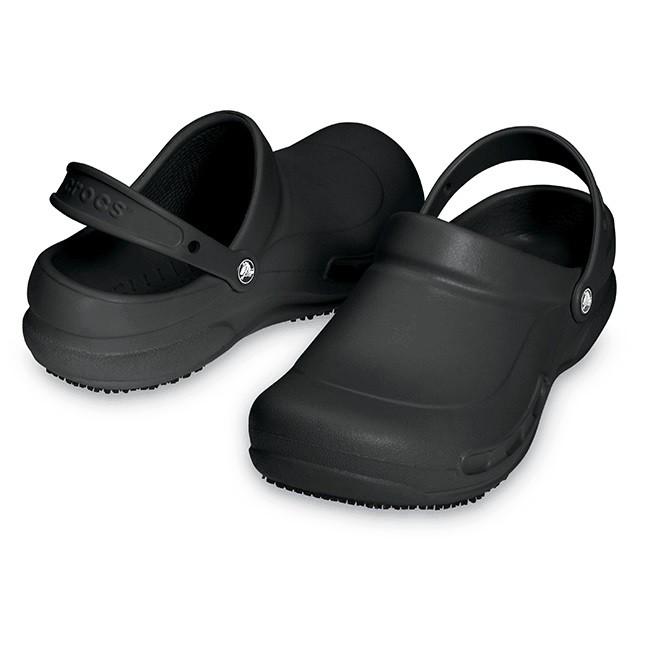 CROCS 中性鞋 廚師鞋 涼拖鞋 0075-001-全黑
