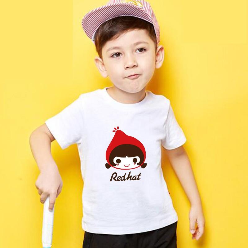 男童 純棉T恤 小女孩服裝 寶寶短袖上衣 小男孩上衣 卡通T恤 嬰兒短袖T恤 嬰幼童兒童童裝 兒童上衣 QT01