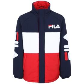 《セール開催中》FILA HERITAGE メンズ ブルゾン ダークブルー S ナイロン 100% NIKOLLA padded jacket