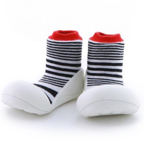 Attipas 快樂腳襪型學步鞋-濃情火焰