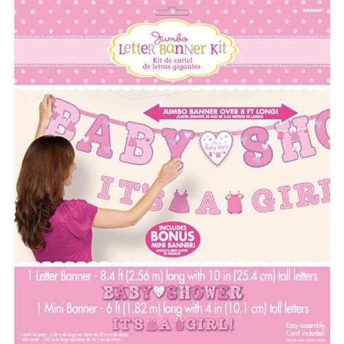 派對城 SUPER PARTAY Baby Shower字串組-寶寶衣女孩