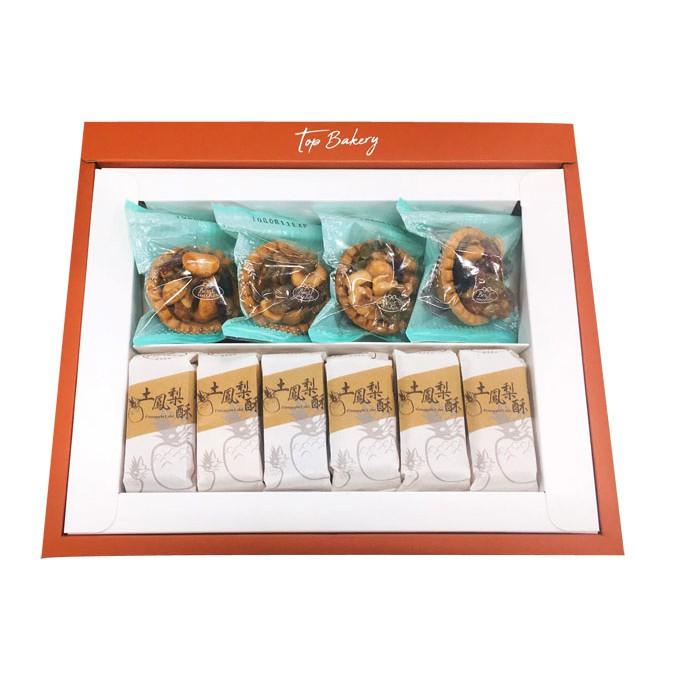 唐璞烘焙金饌禮盒(土鳳梨酥x6、綜合塔x4)