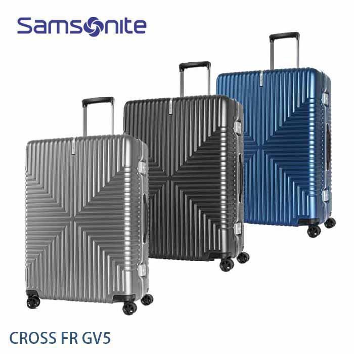 Samsonite 新秀麗 CROSS FR GV5 輕鋁框 25吋行李箱 霧面PC 大容量 飛機輪 +送好禮