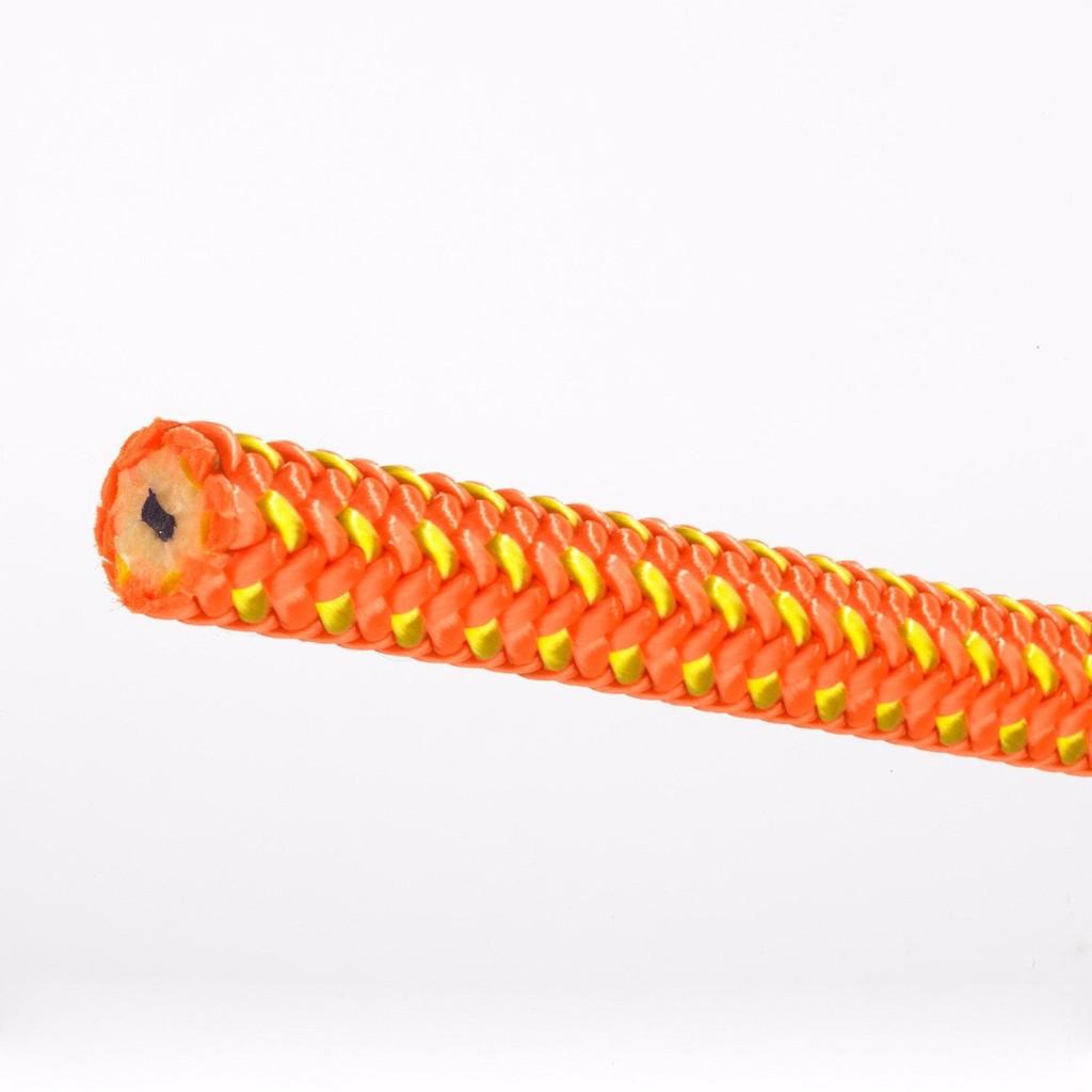 New England Ropes 雙編織雙繩心 攀樹繩 Tachyon 橘黃色 40米 有認證