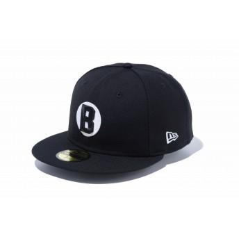 NEW ERA ニューエラ 59FIFTY ニグロリーグ ボルティモア・ブラックソックス ブラック × ホワイト ベースボールキャップ キャップ 帽子 メンズ レディース 7 (55.8cm) 12019025 NEWERA