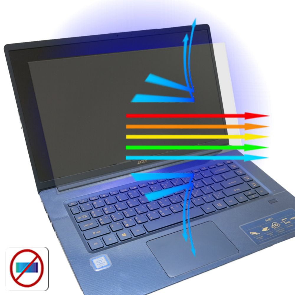 【Ezstick】ACER SF515-51T 防藍光螢幕貼 抗藍光 (可選鏡面或霧面)