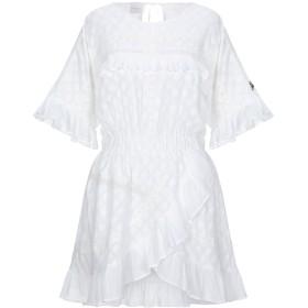 《セール開催中》GALLE Paris レディース ミニワンピース&ドレス ホワイト 42 コットン 100%