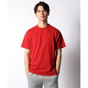 JOURNAL STANDARD relume LA APPAREL / ロサンゼルスアパレル 6.5oz Garment Dye クルーネックTシャツ レッド A XL
