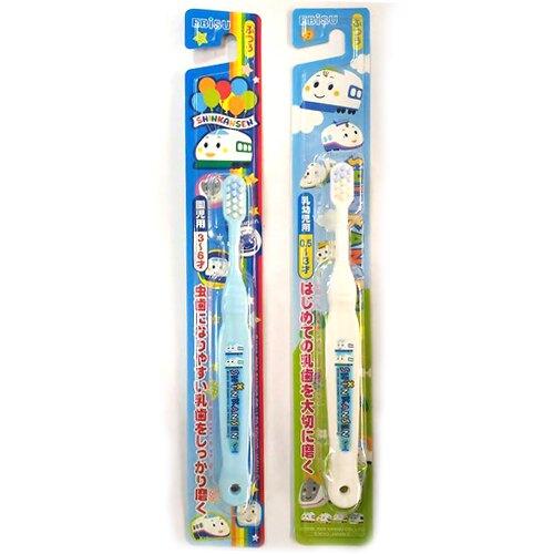 日本 EBiSU惠百施 新幹線 兒童牙刷 0.5-3歲/3-6歲(單支)【德芳保健藥妝】(顏色隨機出貨)