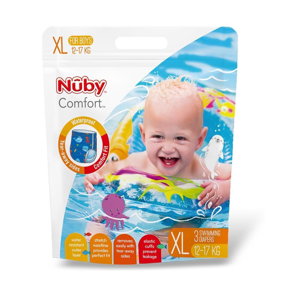 Nuby 游泳尿布-男 (XL)