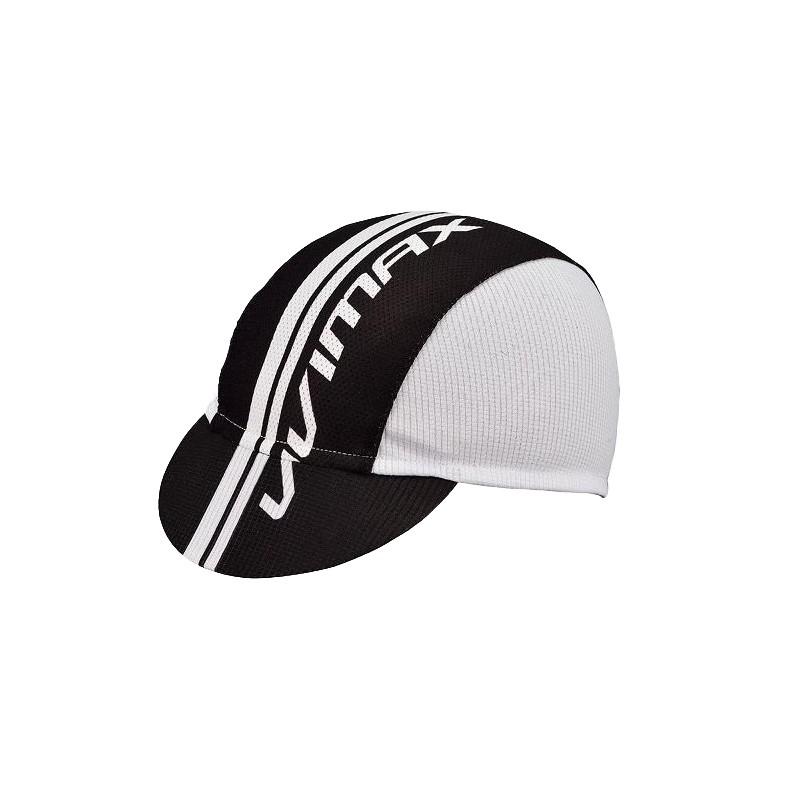 VIVIMAX 自行車單車小帽 單車遮陽防曬小帽(黑白)[09001120]【飛輪單車】