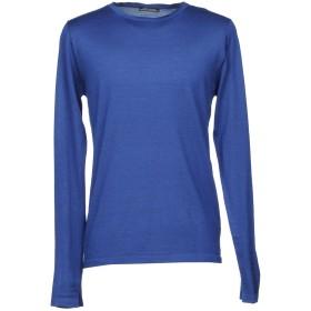 《セール開催中》DANIELE ALESSANDRINI HOMME メンズ プルオーバー ブルー 50 ウール 100%