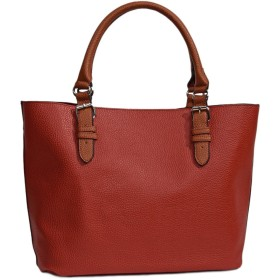 kobe bag mania  A4サイズ ザックリトートバッグ R307 (レッド)