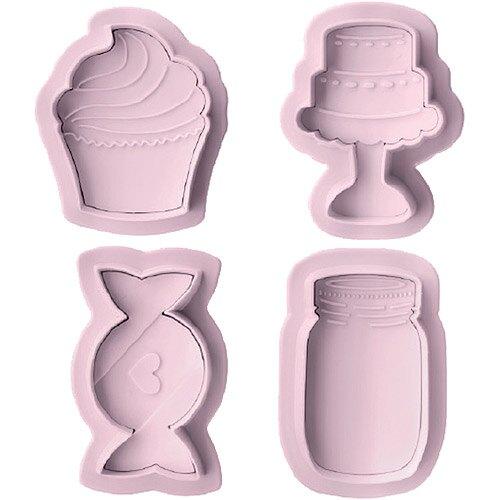 《IBILI》Sweet餅乾推壓模4件(甜點)