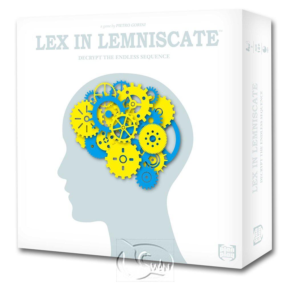 【新天鵝堡桌遊】無限符裡的規律 Lex in Lemniscate-國際版