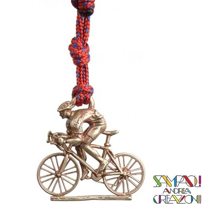 【SAC 義大利】青銅掛飾吊飾-公路車 義大利傳統飾品工藝 (SAC204)