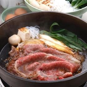 [京都・モリタ屋]京都産黒毛和牛ロースすき焼き 精肉