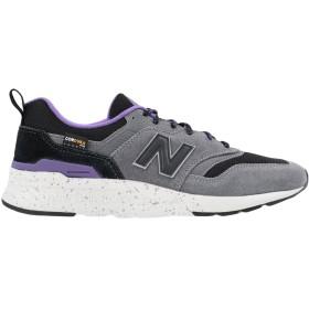 《セール開催中》NEW BALANCE メンズ スニーカー&テニスシューズ(ローカット) グレー 7 革 / 紡績繊維 997