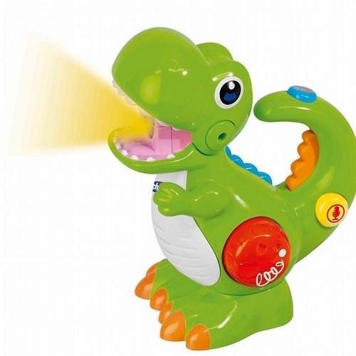 義大利 Chicco 聲光錄音小恐龍
