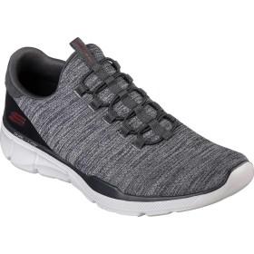 [スケッチャーズ] シューズ スニーカー Relaxed Fit Equalizer 3.0 Emrick Sneaker Charcoal メンズ [並行輸入品]
