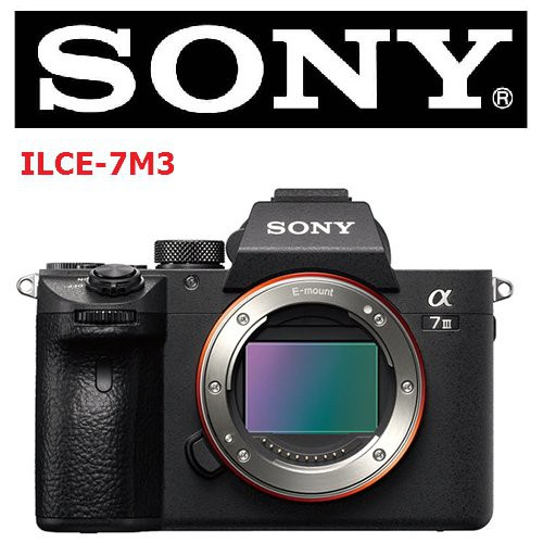 SONY ILCE 7 III 單機身 【宇利攝影器材】 A7M3 索尼公司貨 註冊兩年保固