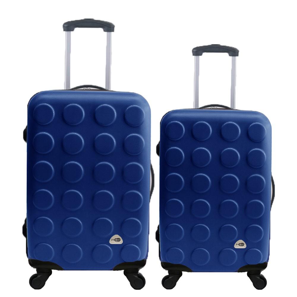 Just Beetle 積木系列ABS輕硬殼 28寸 24寸 兩件組 旅行箱 行李箱