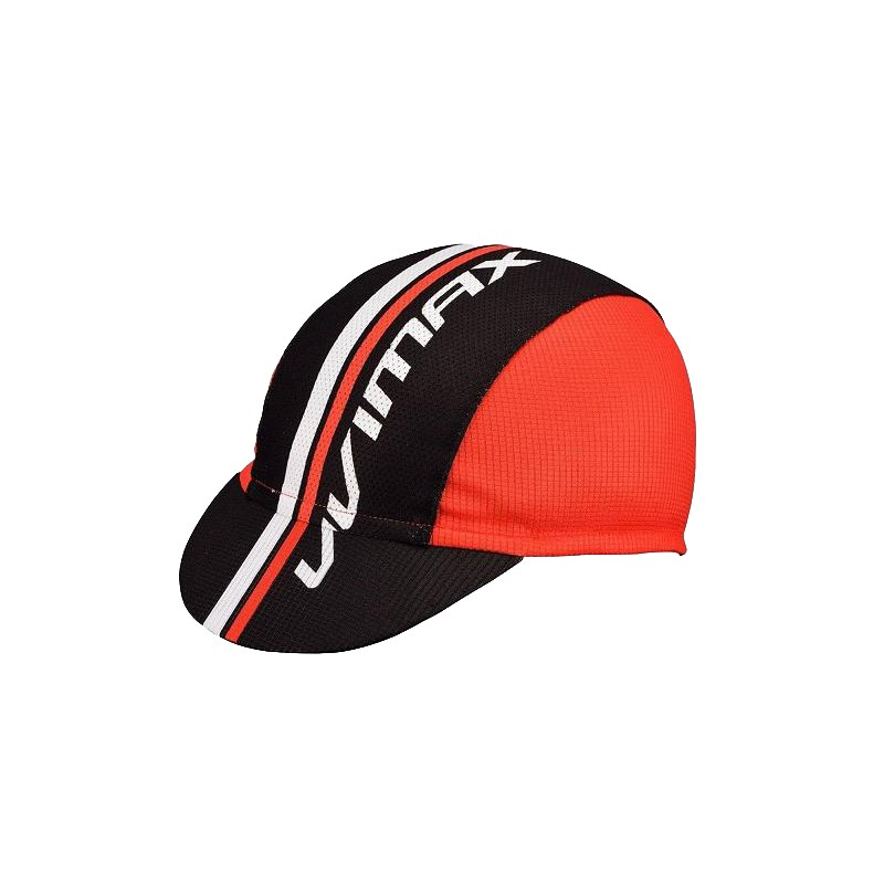 VIVIMAX 單車小帽 遮陽小帽 防曬小帽(紅黑)[09001140]【飛輪單車】